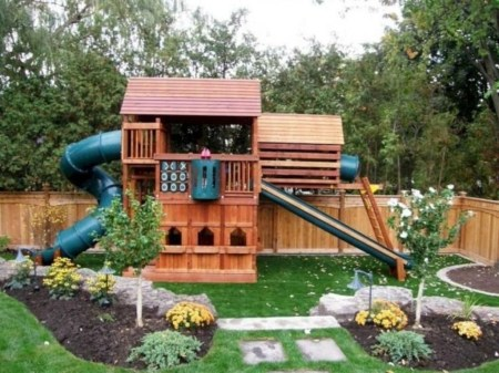 Wonderful Diy Playground Project Ideas For Backyard Landscaping13