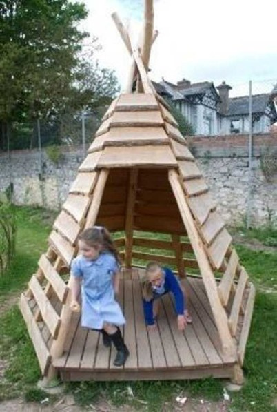 Wonderful Diy Playground Project Ideas For Backyard Landscaping32