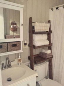 Charming Bathroom Storage Ideas47