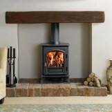 Modern Brick Fireplace Decorations Ideas For Living Room33