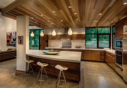 Relaxing Midcentury Decorating Ideas For Kitchen09