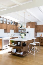 Relaxing Midcentury Decorating Ideas For Kitchen25