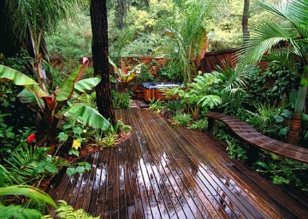Wonderful Tropical Landscaping Ideas For Garden02