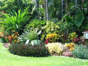 Wonderful Tropical Landscaping Ideas For Garden18