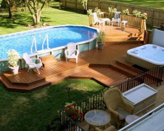 Affordable Ground Pool Landscaping Ideas21