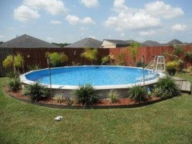 Affordable Ground Pool Landscaping Ideas43