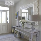 Relaxing Mirror Designs Ideas For Hallway14