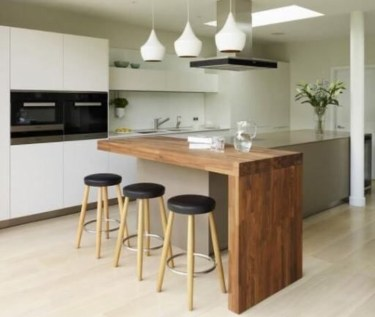 Stunning Kitchen Island Ideas With Seating13