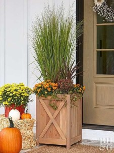 Adorable Porch Planter Ideas That Will Give A Unique Look09