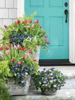Adorable Porch Planter Ideas That Will Give A Unique Look19