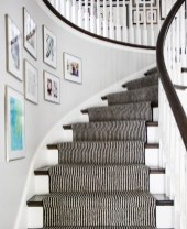 Beautiful Color Ideas For Your Stairs Decoration01