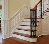 Beautiful Color Ideas For Your Stairs Decoration20