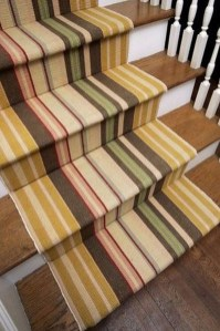 Beautiful Color Ideas For Your Stairs Decoration35