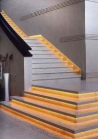 Beautiful Color Ideas For Your Stairs Decoration39