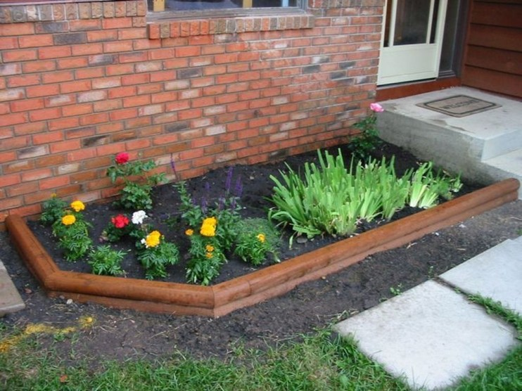Fancy Diy Flower Beds Ideas For Your Garden01
