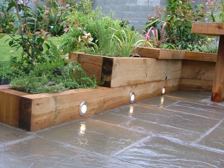 Fancy Diy Flower Beds Ideas For Your Garden17