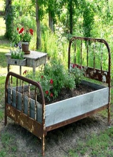 Fancy Diy Flower Beds Ideas For Your Garden24