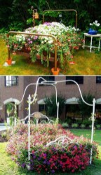 Fancy Diy Flower Beds Ideas For Your Garden26