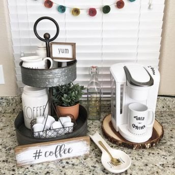 Latest Diy Coffee Station Ideas In Your Kitchen07