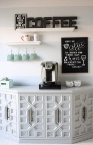 Latest Diy Coffee Station Ideas In Your Kitchen11