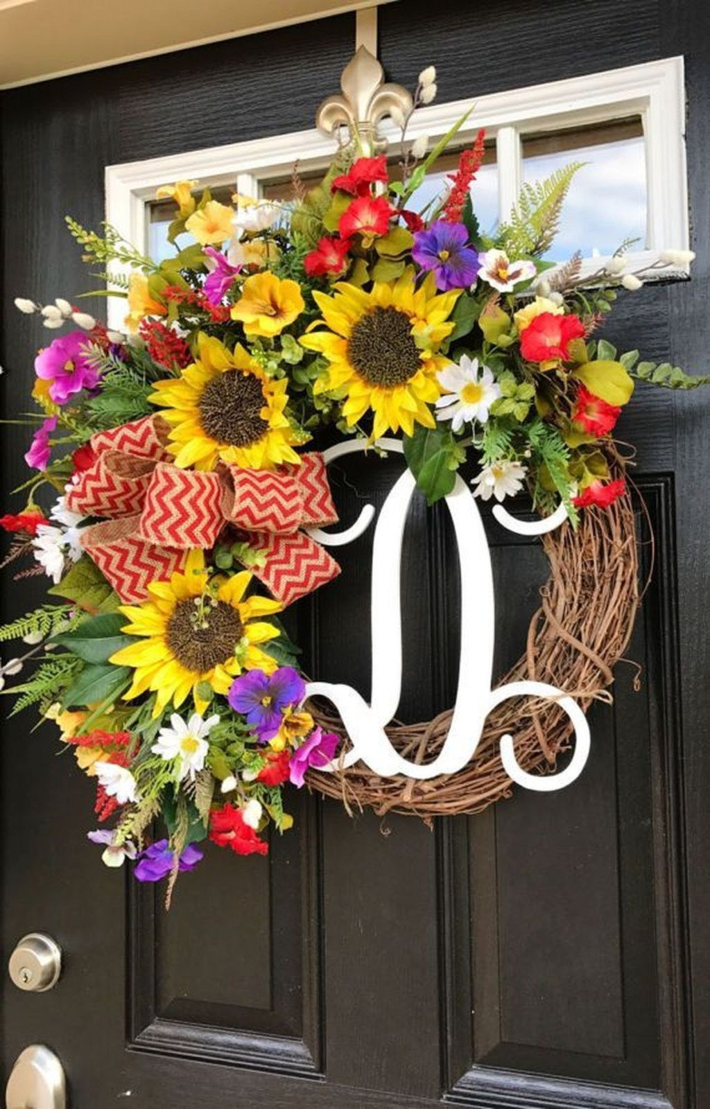 20 Pretty Front Door Wreath Ideas Trendedecor