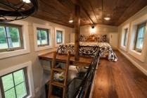 Rustic Tiny House Design Ideas With Two Beds12