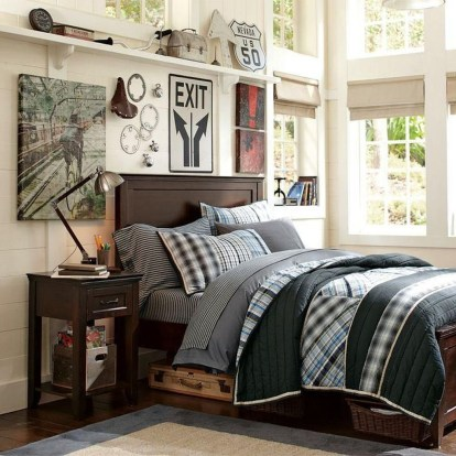 Vintage Shared Rooms Decor Ideas For Teen Boy17