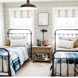 Vintage Shared Rooms Decor Ideas For Teen Boy32