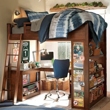 Vintage Shared Rooms Decor Ideas For Teen Boy43