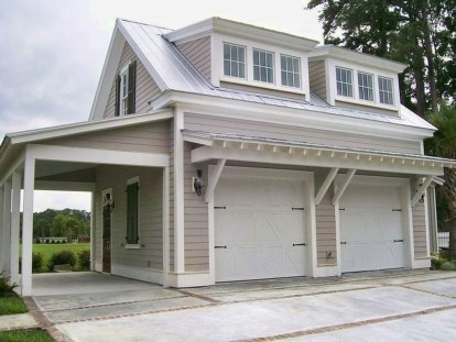 Astonishing House Design Ideas With With Car Garage06