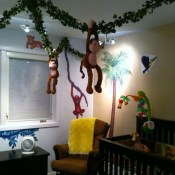 Charming Kids Bedroom Ideas With Jungle Theme To Try28