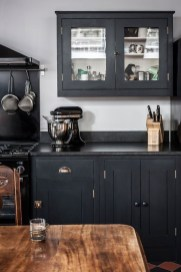 Elegant Black Kitchen Design Ideas You Need To Try02