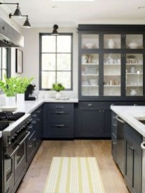 Elegant Black Kitchen Design Ideas You Need To Try12