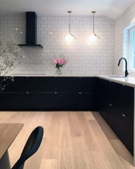 Elegant Black Kitchen Design Ideas You Need To Try19