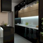 Elegant Black Kitchen Design Ideas You Need To Try22