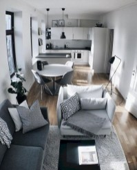 Newest Living Room Apartment Design Ideas For Your Apartment13