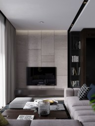Newest Living Room Apartment Design Ideas For Your Apartment20