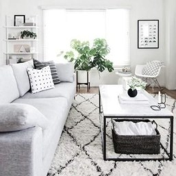 Newest Living Room Apartment Design Ideas For Your Apartment21