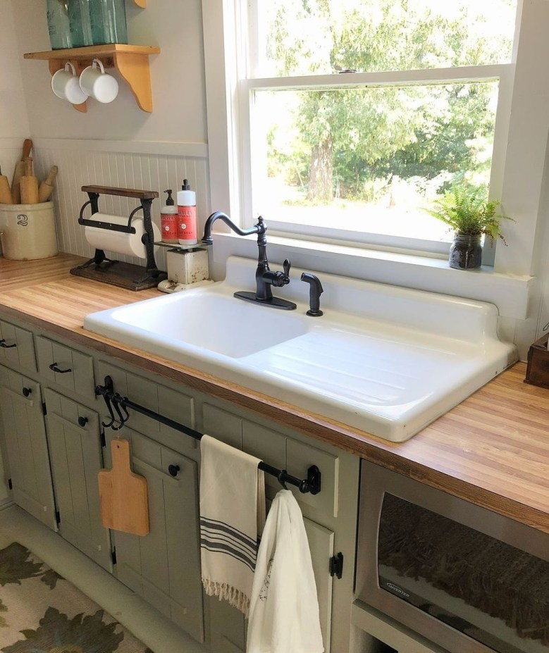 Outstanding Sink Ideas For Kitchen Home You Should Try13
