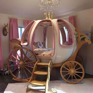 Pretty Princess Bedroom Design And Decor Ideas For Your Lovely Girl43