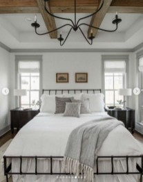 Unordinary Ceiling Design Ideas For Your Bedroom04