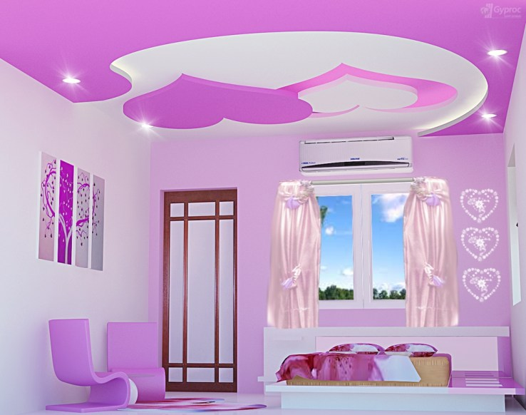 Unordinary Ceiling Design Ideas For Your Bedroom27