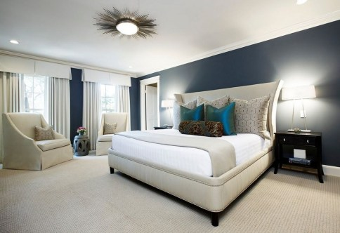 Unordinary Ceiling Design Ideas For Your Bedroom45