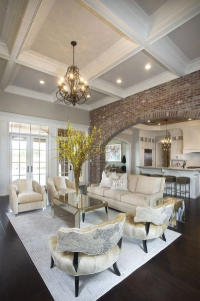 Unusual Ceiling Designs Ideas For Living Rooms07