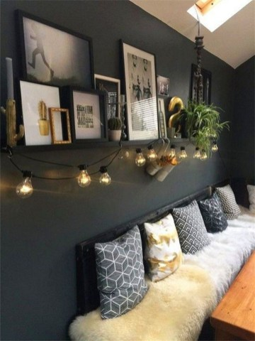 Attractive Lighting Wall Art Ideas For Your Home This Season04