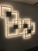 Attractive Lighting Wall Art Ideas For Your Home This Season25