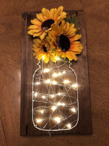Attractive Lighting Wall Art Ideas For Your Home This Season29