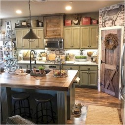 Beautiful Farmhouse Kitchen Décor And Remodel Ideas For You12