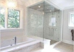 Best Master Bathroom Shower Remodel Ideas To Try34