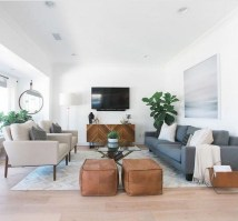Comfy Living Room Decor Ideas To Make Anyone Feel Right At Home36